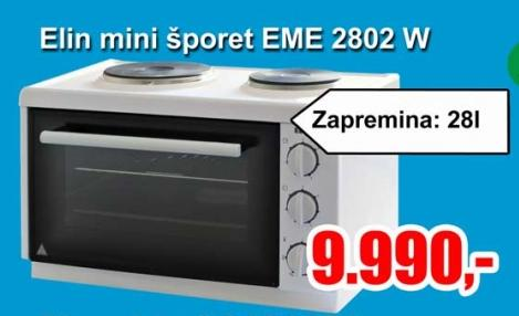 Mini Šporet Eme 2802 W