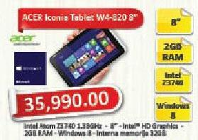 """Tablet Iconia W4-820 8"""""""