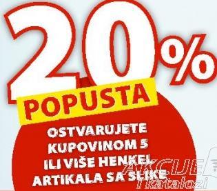 20% popusta