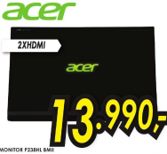 LED monitor 23''  P238HL BMII