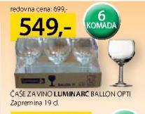 Čaše za vino, Ballon Opti