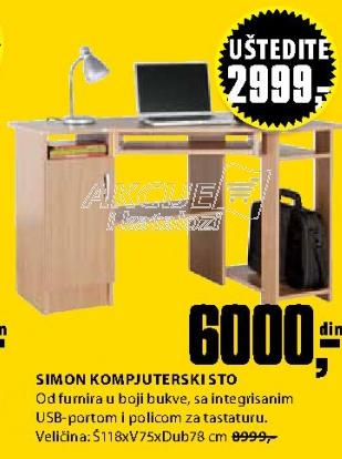 Kompjuterski sto SIMON