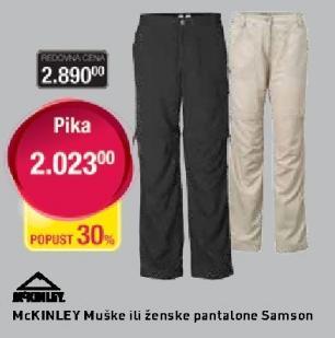 Muške pantalone McKinley