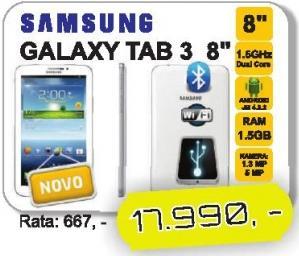 """Tablet Galaxy Tab 3 8"""""""