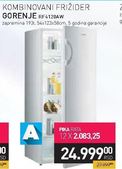 Kombinovani frižider RF4120  AW