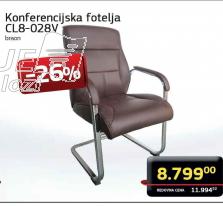 Konferencijska  fotelja CL8-028V