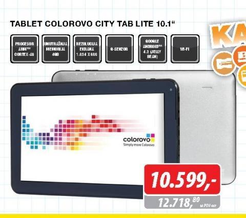 "Tablet CityTab Lite 10.1"""