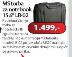 "Torba za notebook 15,6"" LB-02"