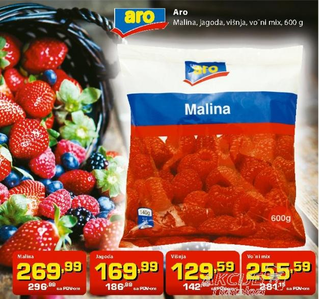 Smrznuto voće mix