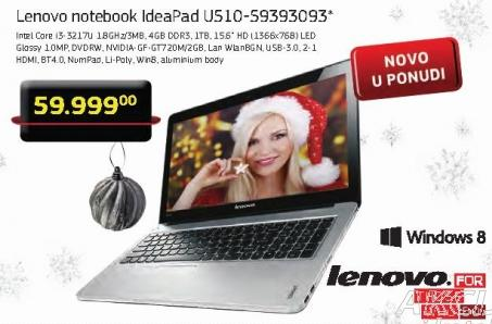 Laptop U510-59393093