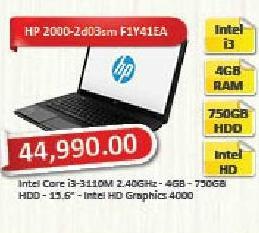 Laptop računar  2000-2d03sm F1Y41EA