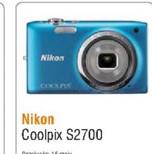 Fotoaparat Coolpix S2700