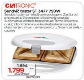 Sendvič toster St 3477