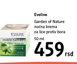 Garden of Nature noćna krema za lice protiv bora