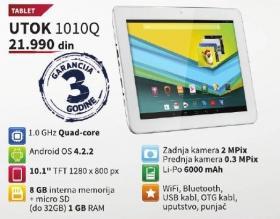 Tablet 1010q Utok