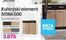 Kuhinjski element Ivona 600
