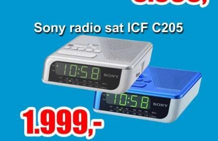 Radio sat ICF C205S