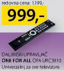 Daljinski upravljač One For All Ofa Urc3910