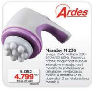 Masažer M236