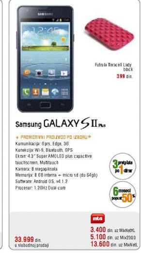Telefon mobilni GALAXY S II Plus