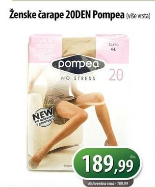 Ženske čarape 20den