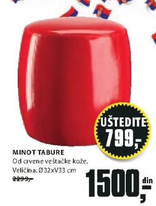 Tabure Minot