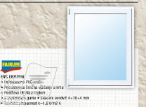 Pvc Prozori, dvokrilni 120x120cm