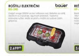 Roštilj električni BG-240