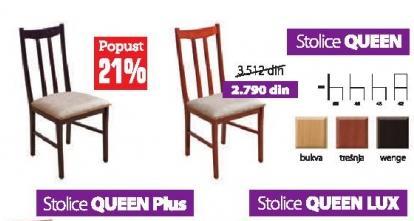 Trpezarijska stolica Queen