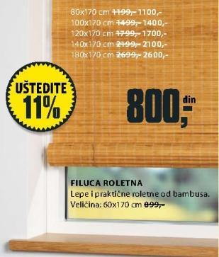Roletna Filuca 60x170cm