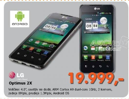 Mobilni telefon Optimus 2X