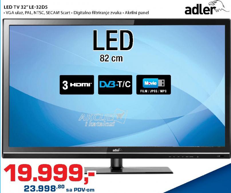 Televizor LED  LE-32D5