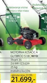 Motorna kosačica MTD Gutbrod 51C