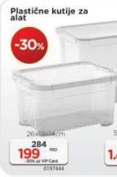 Plastična kutija za alat