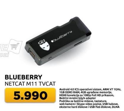 Netcat M11 TVcat