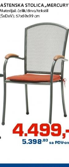 "Baštenska stolica ""Mercury"""