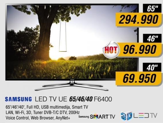 """Televizor LED 46"""" 3D UE46F6400"""