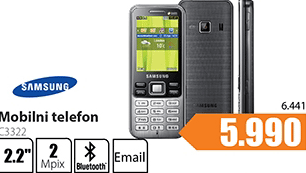 Mobilni telefon Samsung C3322