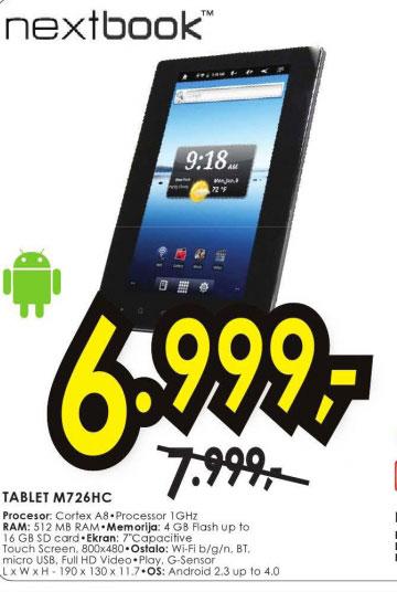 Tablet M726HC