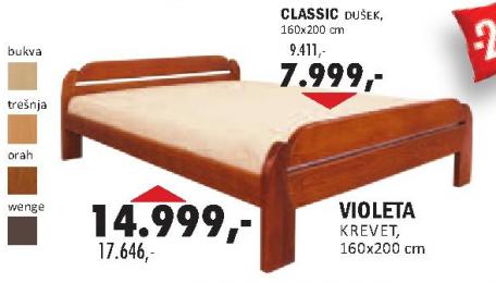 Krevet Violeta 160X200