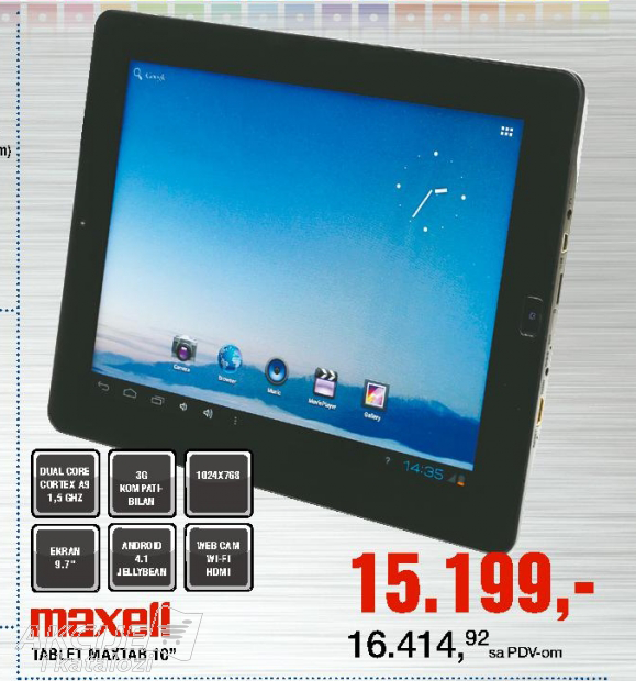 Tablet maxtab 10''