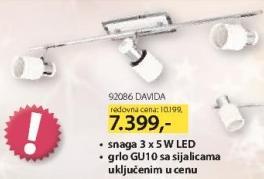 LED Dekorativni reflektor 92086