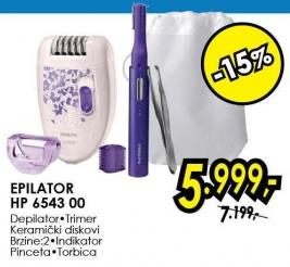 Epilator Hp 6543/00