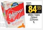 Dugotrajno mleko 3,5% mm