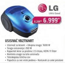 Usisivač VB2716NRT