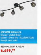 Spot lampa Kosta