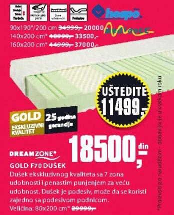 Dušek Gold F70