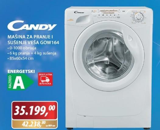 Mašina za pranje i sušenje veša GOW164