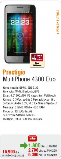 Multiphone 4300 Duo