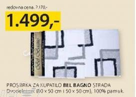 Prostirka za kupatilo Bel Bagna Strada